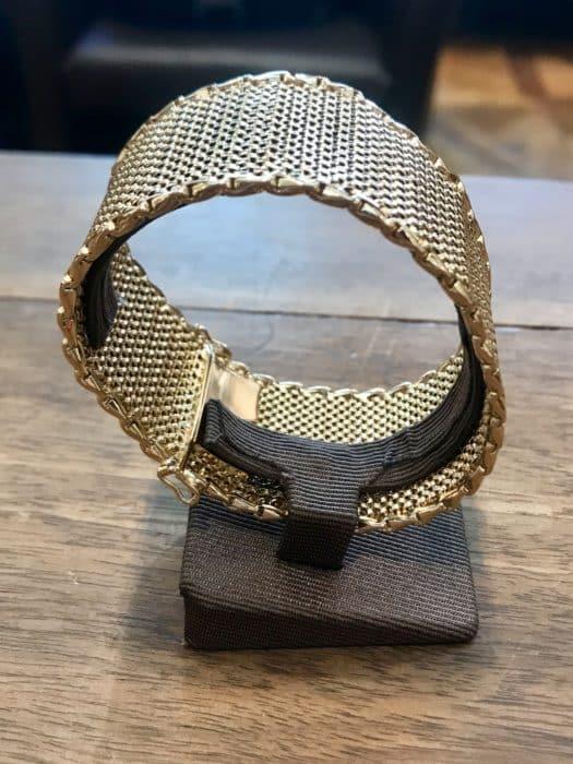 Bracelet occasion vintage en or jaune